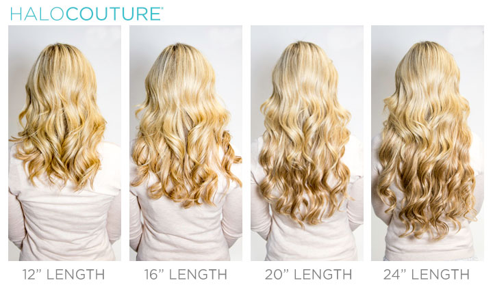 16 Inch Halo Hair Extensions Image Collections Extension Gallery